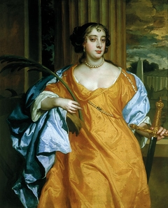 Barbara Villiers, Duchess of Cleveland as St Catherine of Alexandria