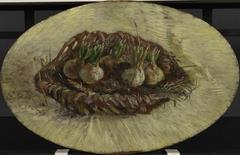 Basket of Hyacinth Bulbs