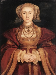 Betrothal portrait of Anne of Cleves