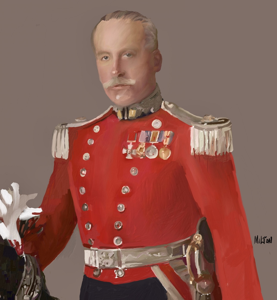 British Army Officer Late Empire