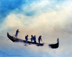C'E L'AQUA ALTA - It's high tide - by Pascal