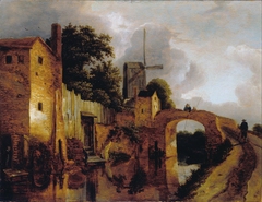 Canal with Bridge