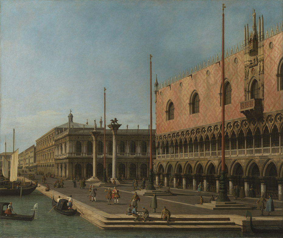 Capriccio of the Molo and the Doges's Palace