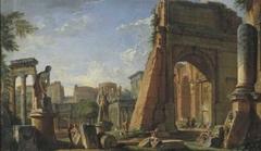 Capriccio with Motifs of the Forum Romanum