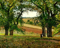 Chestnut Trees at Osny