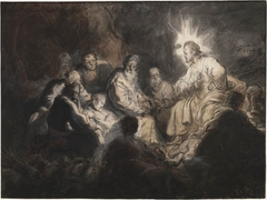 Christ and his Disciples in Gethsemane