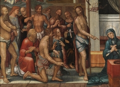 Christ presents the Redeemed from Limbo to the Virgin