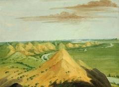 Clay Bluffs, Twenty Miles above the Mandans