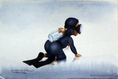COMBINAISON DE BAPTEME - Baptism wetsuit - by Pascal