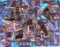 Composition- VII 44,5x56 author technic 2013