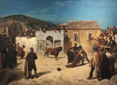 Course de taureaux en Espagne