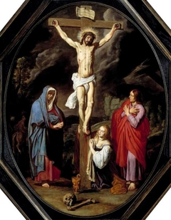 Crucifixion with Mary, St John and the Magdalene
