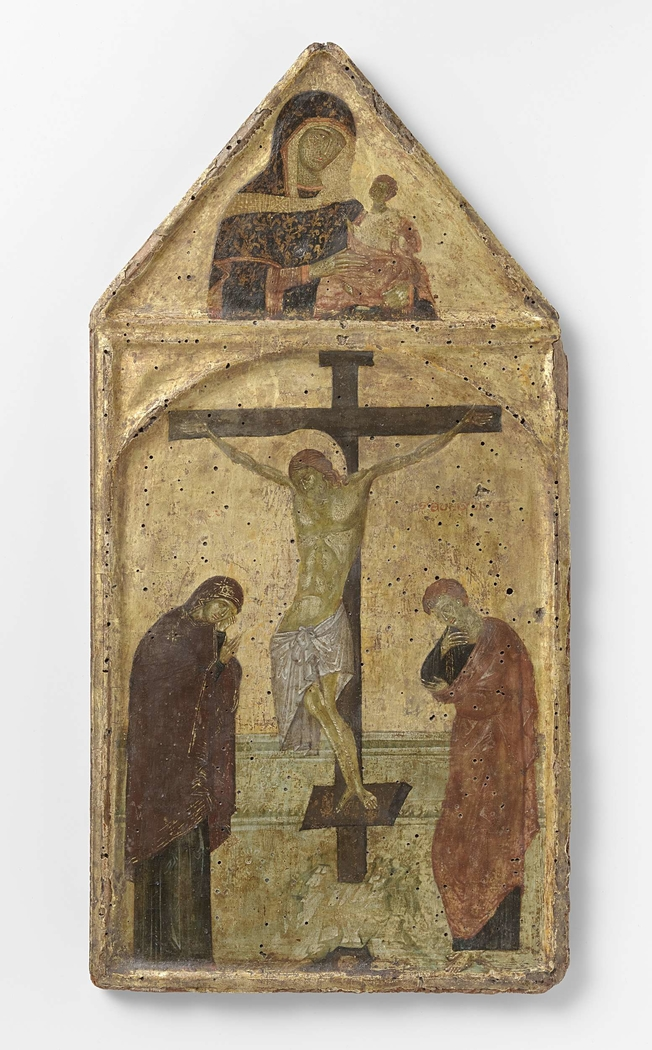 Crucifixion with the Virgin and Saint John