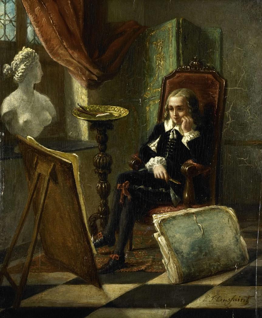 De jonge schilder