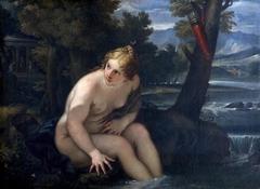 Diana Bathing (after Maratta)