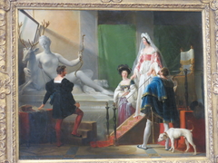 Diane de Poitiers in the studio of Jean Goujon