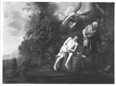 Die Opferung Isaaks (Replik?)
