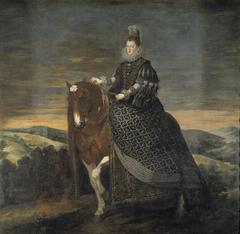 Equestrian Portrait of Margarita of Austria