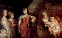 Five Eldest Children of Charles I