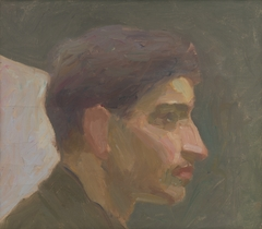 Head Study of a Young Man