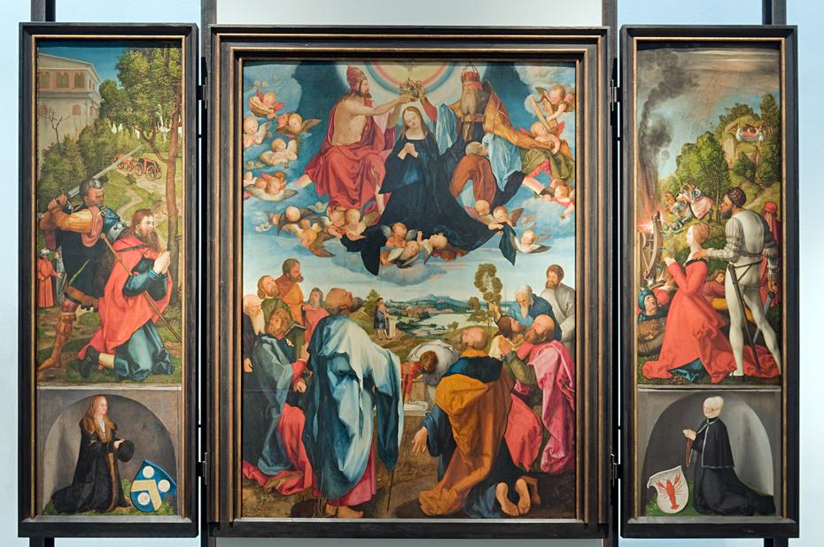 Heller Altar piece