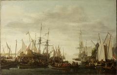Het kielhalen van de scheepschirurgijn van admiraal Jan van Nes