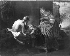 Isaak segnet Jakob (und Werkstatt)