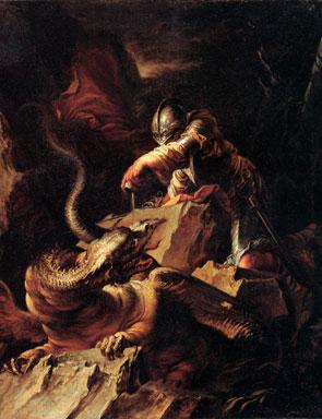 Jason Charming the Dragon