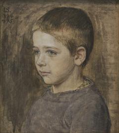 Kunstnerens søn, Peter