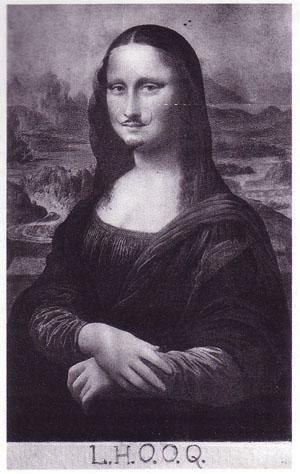 L.H.O.O.Q. (Mona Lisa)