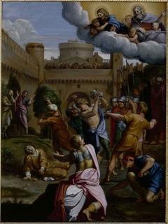 La Lapidation de saint Etienne