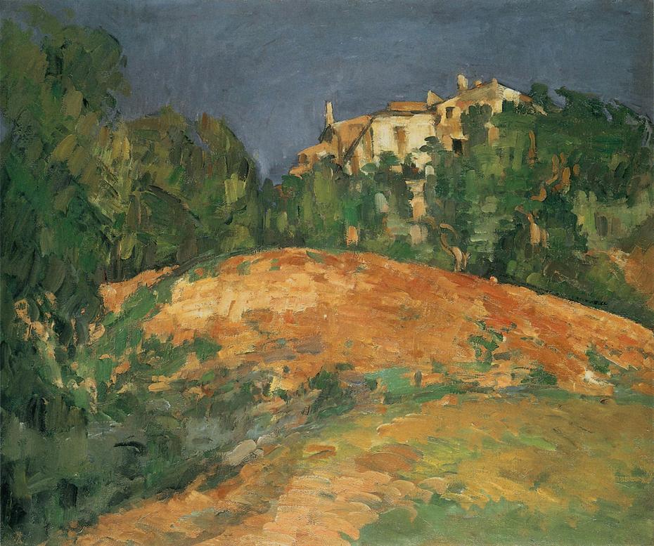 La maison de Bellevue sur la colline
