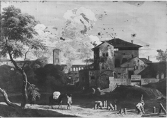 Landscape with a Sawmill
