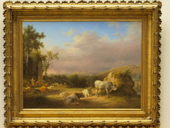 Landscape with cattle in the Campagna