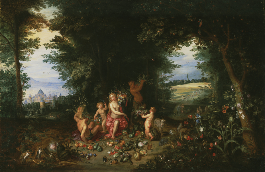 Landscape with Ceres (Allegory of Earth)