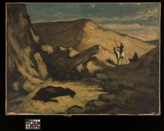 Landscape with Don Quixote and the Dead Mule