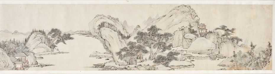 Landscape with Mountains and Rivers