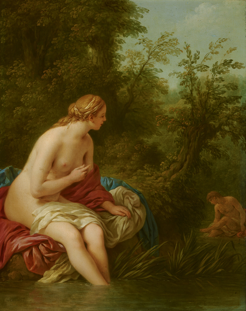 Landscape with Salmacis and Hermaphroditus