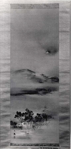 Landscape with the Moon