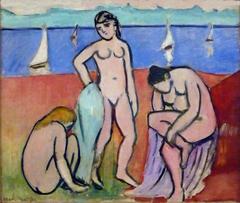 Les trois baigneuses (Three Bathers)