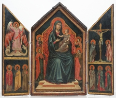 Madonna and Child Enthroned with Saints Lucy, Margaret, Mary Magdalene and Catherine of Alexandria