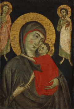 Madonna and Christ Child with Two Saints