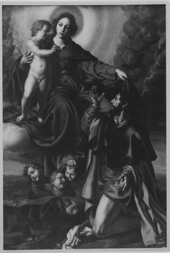Madonna mit Kind und dem hl. Rochus