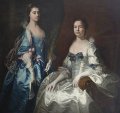 Martha Tyrrell, Lady Drury (d.1768) and her Daughter Mary Ann Drury, later Countess of Buckingham (1740-1769)
