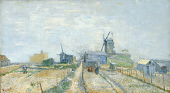 Montmartre: Windmills and Allotments