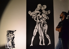 my shadow art ...''hector and andromache''