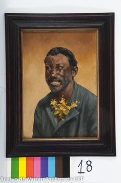 Negro com Flores