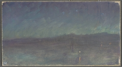 Night on the sea. From the journey to Constantinople