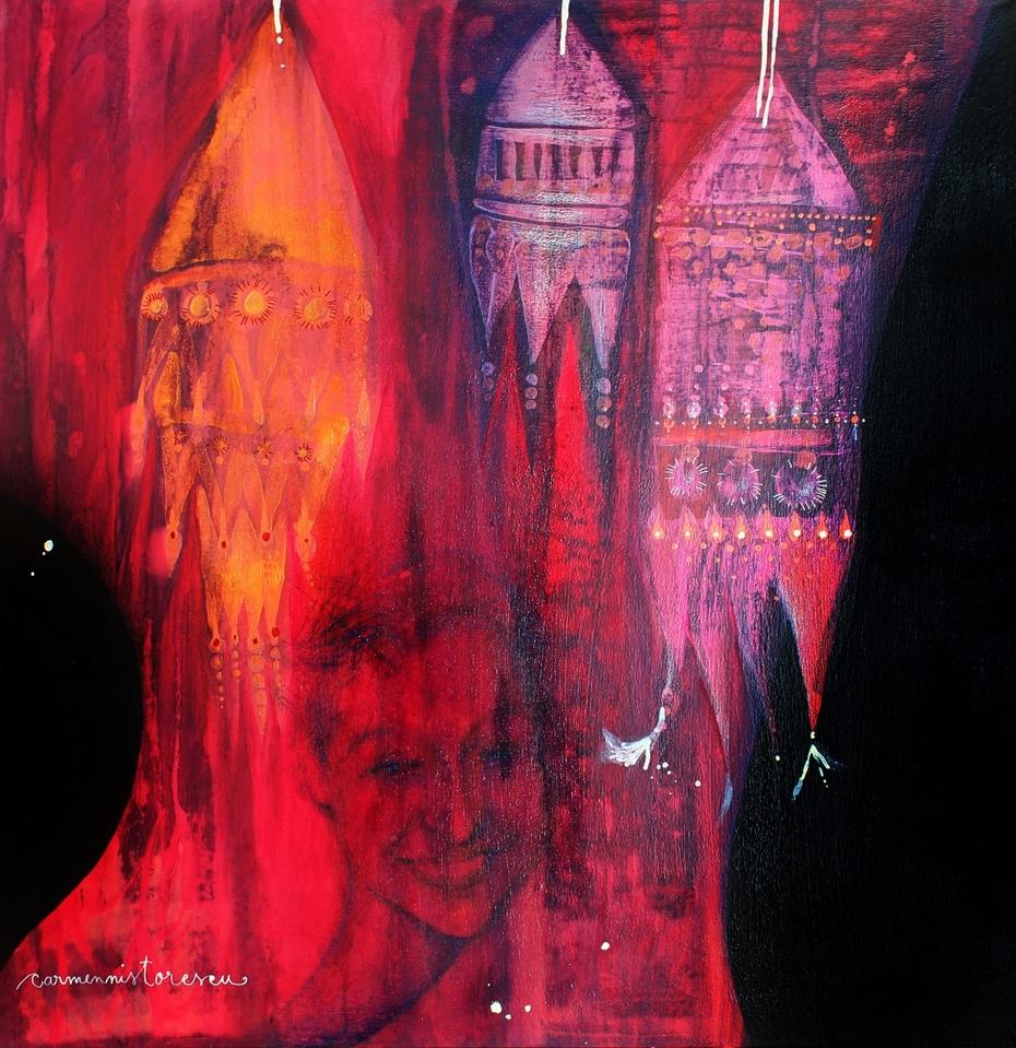 oriental red