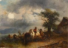 Pferdeschwemme